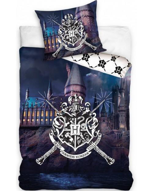 Harry Potter Hogwarts Dark Blue Hogwarts image Duvet & Pillow Cover set