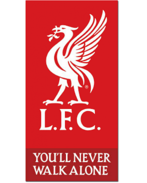 Liverpool LFC Beach Towel Cotton
