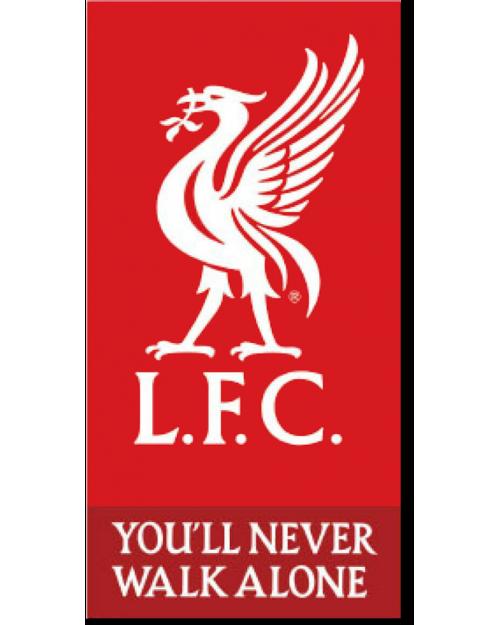 Liverpool LFC Logo Beach Towel Microfibre