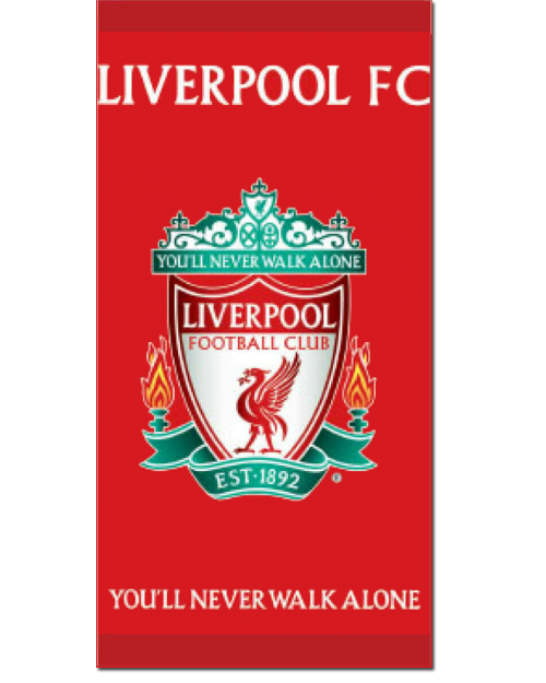Liverpool FC Beach Towel Cotton