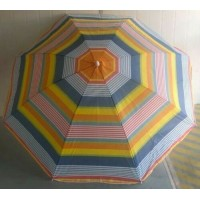 Summer Beach or Garden Parasols in Choice of Colours