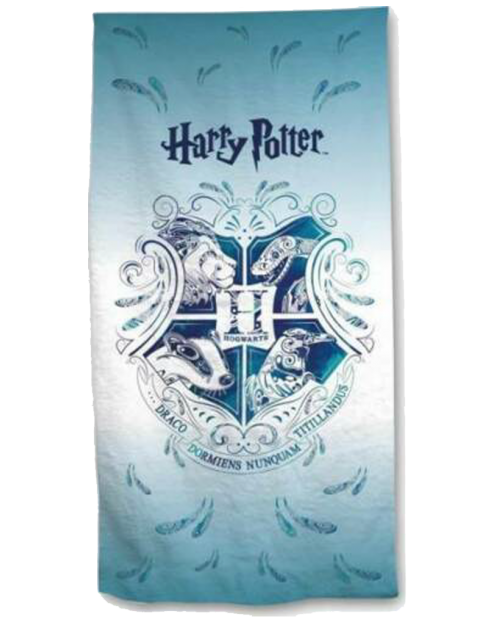 Harry Potter Hogwarts Blue Beach Towel Cotton