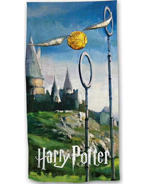 Harry Potter Quidditch Beach Towel Cotton