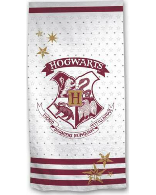 Harry Potter Hogwarts Stars Beach Towel Microfibre