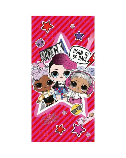 LOL Surprise born to be Bad Pink Beach Towel Swimming Holiday style 2