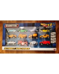 Diecast Cars Teamsterz cars Street Machines Pack of 12 Cars