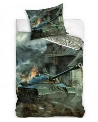Army Tank Fire single bedding Reversible Cotton