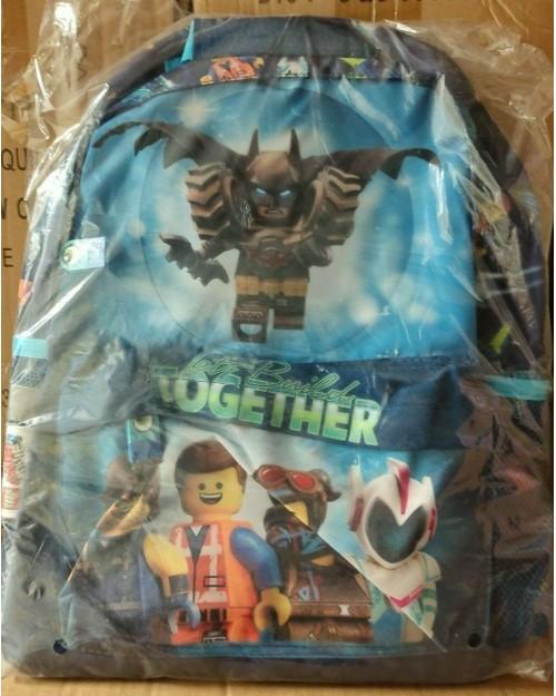 Logo Batman backpack Childs school bag Hold all Kids bag Holiday Travel bag