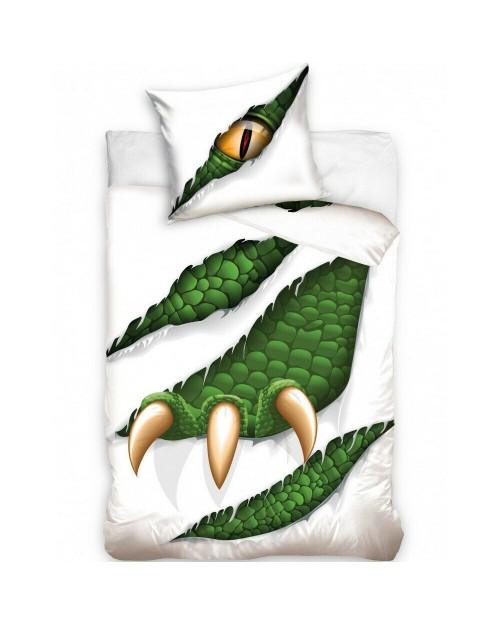 Monster Dinosaur Dino Crocodile Bedding Single 100% Cotton Bed Set