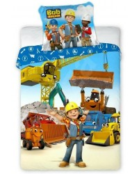 Bob The Builder Toddler / Cot bedding 100×135 cm, 40×60 cm 100% Cotton