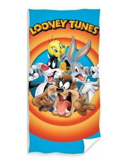 Looney Tunes towel Beach Swimming Holiday Buggs bunny, sylvester, taz