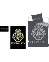 Harry Potter Glow in The dark Grey Bedding Single Bed set