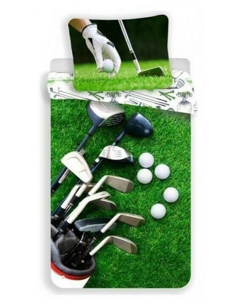 Golf reversible Bed set Duvet Bedding Single continental size 140x200 70x90