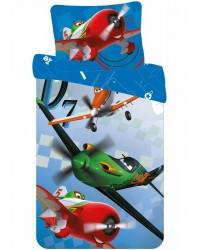 Disney Planes Toddler Bedding Cot Bed Set Blue Theme 90 x140cm 100% Cotton (1)