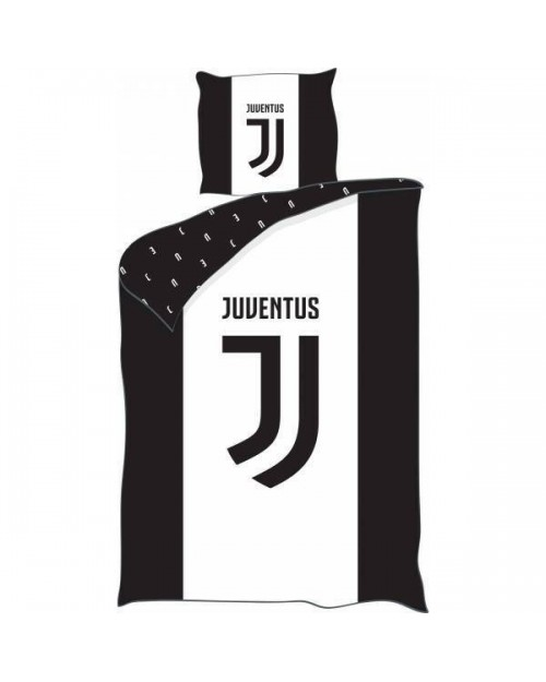 Juventus Black & White Football Club Single bedding Duvet Set Ronaldo  (1)