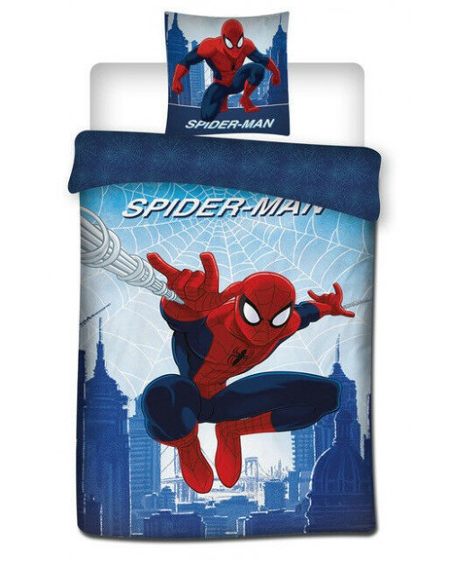 Spiderman Single Bed set Spider man Duvet Set Reversible cover bedding Type 2