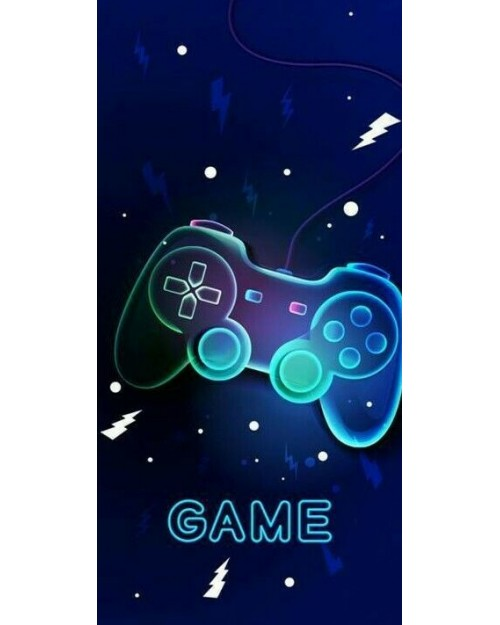 Game controller Beach Towel Swimming Holiday 70 x 140cm 100% cotton