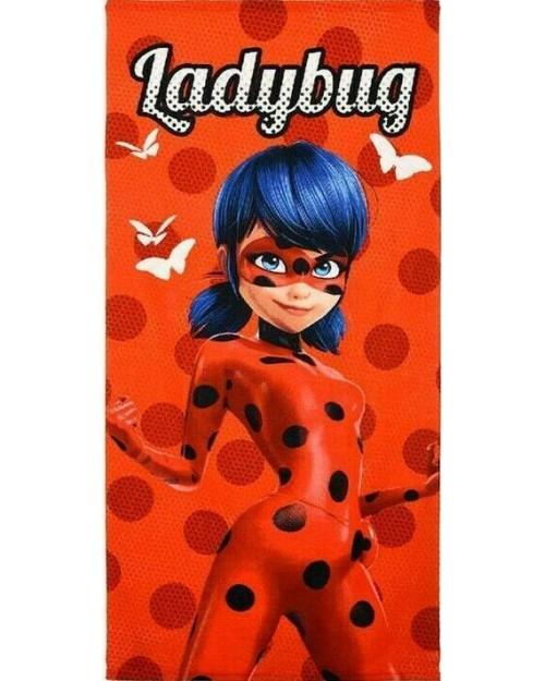Lady bug & Cat Noir Red Beach Towel Boys or girls Swimming Towel Miraculous