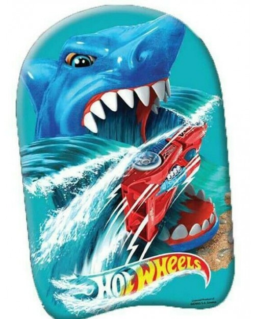 Swimming Float Kickboard Kids Character Hot Wheels 45cm