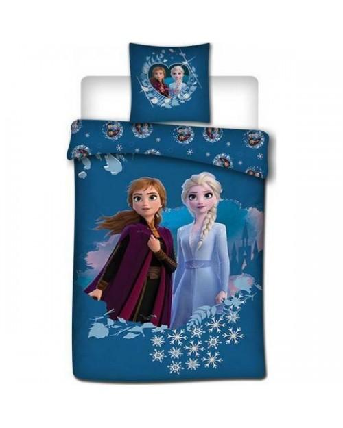 Frozen Elsa & Anna Blue Bedding Disney Princess Single (8)