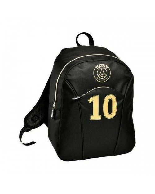 Paris Saint Germain PSG Black Backpack Rucksack Bag Hold all Travel Gym Football