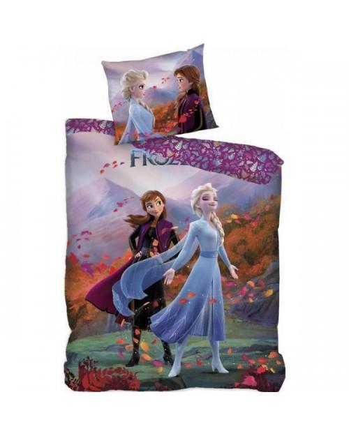 Frozen Bedding Single Elsa & Anna Purple type 11