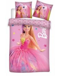Barbie Toddler Bedding Pink Reversible Cover & Pillow Duvet cover Bed set