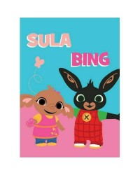 Bing Blanket Sula & Bing 100 x 140cm Fleece