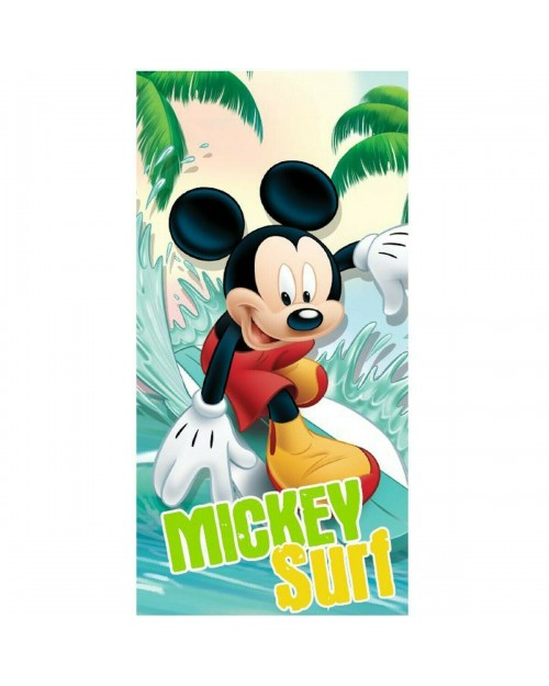 Mickey Mouse Beach Towel Swimming Holiday Mickey Surf Boy or Girl