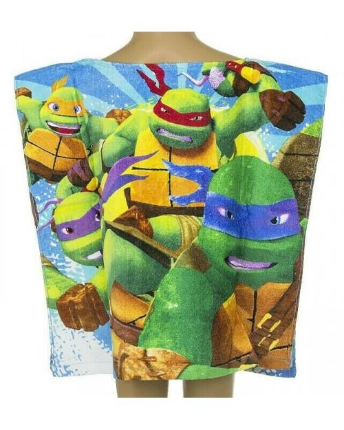 Teenage Mutant Ninja Turtles Poncho swimming Holidays Beach 100% Cotton