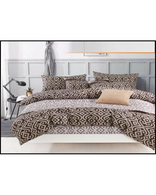 Brown Tribal style design Bedding Single duvet cover Pillow Case Bed set