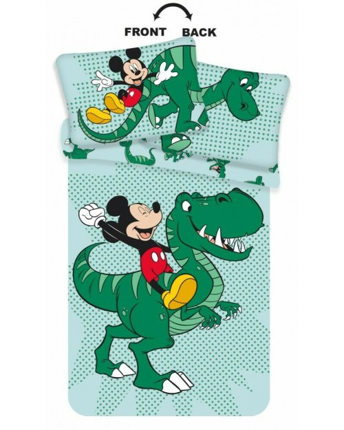Mickey Mouse Dinosaur Toddler Bedding Cover & Pillow Duvet cover