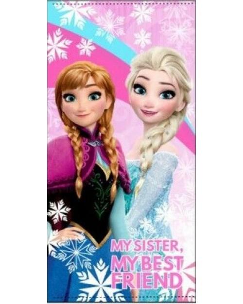 Frozen Elsa & Anna rainbow towel Beach Swimming Holiday By Disney