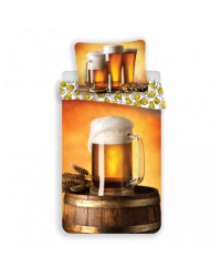 BEER! reversible Bed set Duvet Bedding Single continental size 140x200 70x90