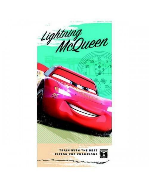Disney Lightning McQueen Cars Beach Towel Swimming Holiday Green design