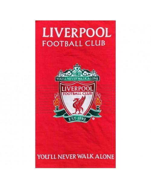 Liverpool Football Club LFC 2 Crest towel Beach Swimming Holiday MICROFIBRE