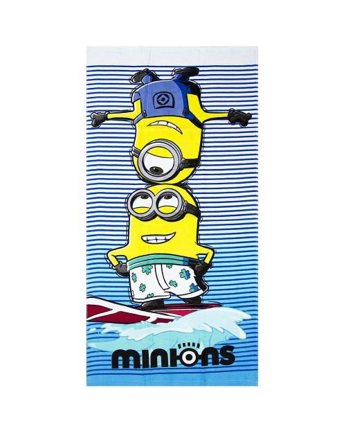 Minion Towel Summer Holidays Children Swimming Beach Towel 2 designs Boys Girls