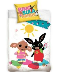 Bing sula panda Bedding set Toddler Reversible Duvet Cover Pillow Cotton style 3