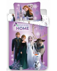 Frozen Anna & Elsa Purple Bedding set Toddler Reversible duvet Cover & Pillow 5