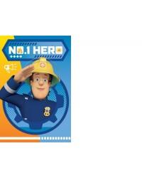 Fireman Sam Blanket Blue No 1 Hero 100 x 140cm Fleece