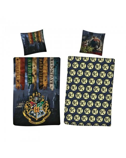 Harry Potter Bedding Hogwarts Houses design Cover & Pillow Duvet cover Single