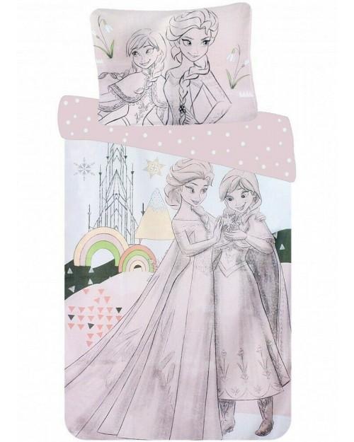 Frozen Anna & Elsa Olaf Bedding set Toddler Reversible duvet Cover & Pillow (3)