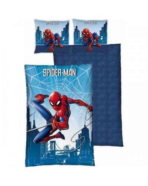 Spiderman Spider man Duvet Set Reversible Single bed cover bedding Red & Blue