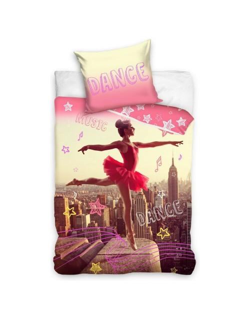 Ballerina Bedding Single Bed set  Pillow & Duvet set