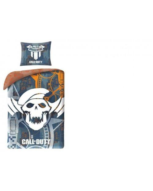 Call Of Duty Dragonfire COD  Single bedding 100% Cotton 140x200 & 70x90 Grey