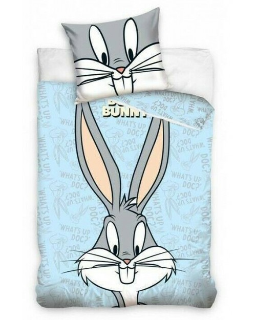 Loony Tunes Buggs Bunny Toddler bedding Bed set Cover & Pillow Duvet cover