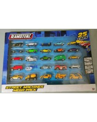 25 Toy Cars Teamsterz different types of vehicles street machines Mega Pack