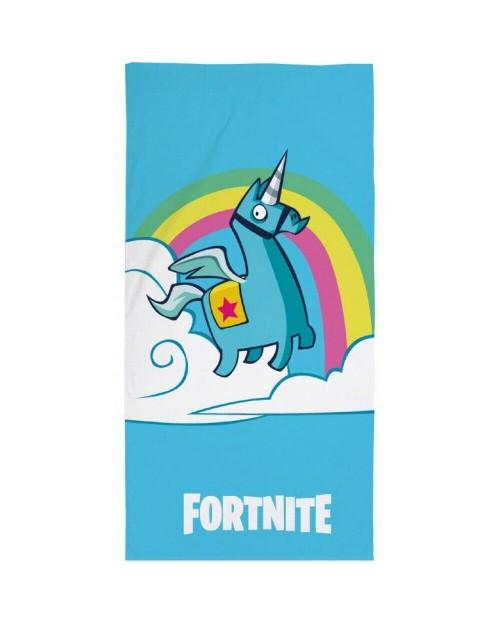 Fortnite Rainbow Unicorn Beach towel Blue Great eye catching design!