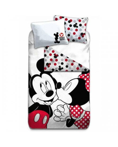 Mickey & Minnie Mouse traditional Bedding Single Cover & Pillow Duvet cover
