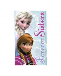 Frozen Elsa & Anna Forever Sisters Beach Towel